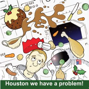 TW307 – Houston We Have a Problem Funny Card